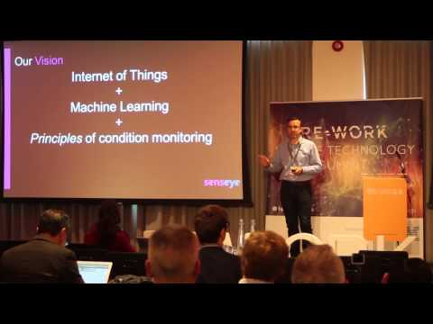 Predictive Analytics in IoT: Lessons Learnt from Aerospace - Rob Russell, Senseye #reworktech