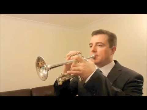 Te Deum (Prelude) by Charpentier. Piccolo trumpet solo with organ