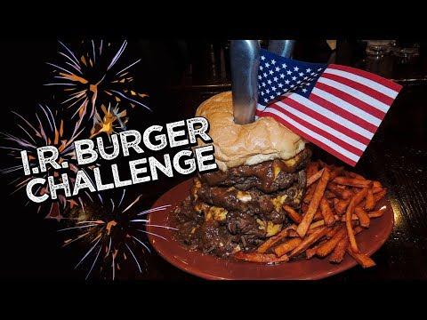 MOST DELICIOUS BURGER CHALLENGE w/ POT ROAST!!