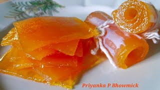 Aam Papad Recipe || How to make perfect Aam Papad || Aamsotto Recipe