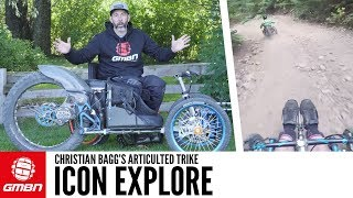 The Icon Explore Articulated Mountain Trike
