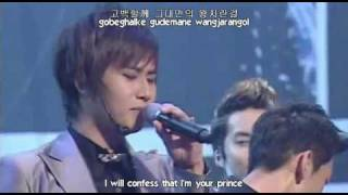 ROM/HAN/ENG; SS501 Snow Prince live