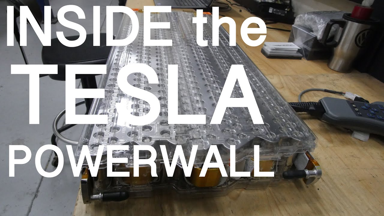 Inside The Tesla Powerwall Vlog 179 Youtube