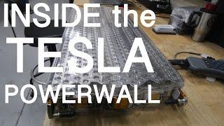 INSIDE THE TESLA POWERWALL  -  Vlog #179