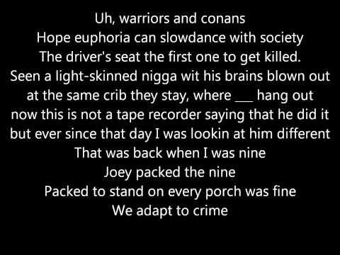 Kendrick Lamar  MAAD City Lyrics