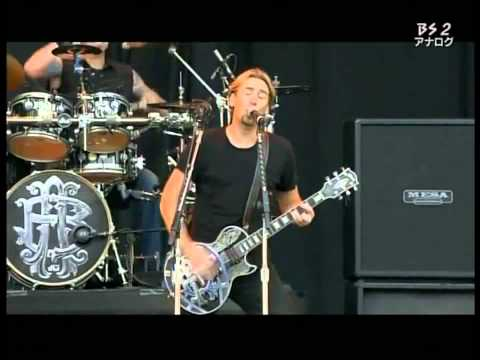 Nickelback   Something In Your Mouth +Lyrics Subtitle/Describtion  Live Japan