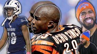 The Second Coming Of OCHO CINCO!!!- Chad Johnson Jr Highlights [Reaction] | Sharpe Sports
