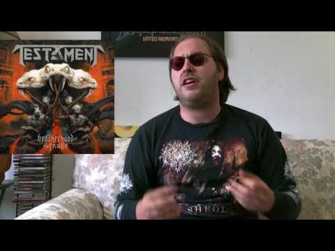 Testament - BROTHERHOOD OF THE SNAKE Album Review