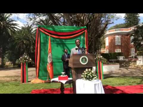 """""""There's no tension, there's terrorism building in Zambia"""" - Lungu"""