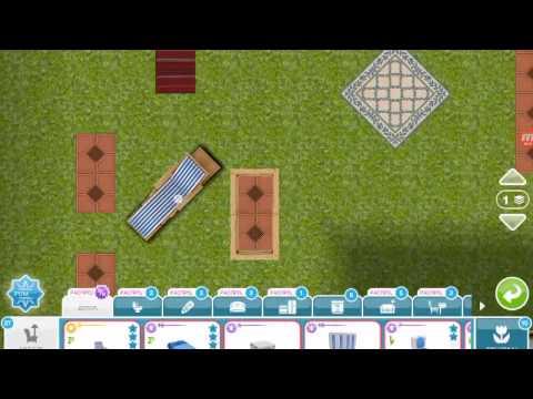 Баг на поворот предметов на 45 градусов в The Sims Freeplay