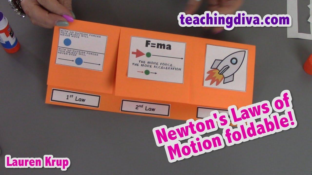 Newton S  Laws For Kids Pdf