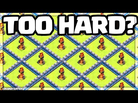 MAXED Clash of Clans UPDATE GAMEPLAY - is Town Hall 12 TOO HARD?