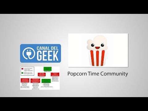 Popcorn Time Community JUNIO 2016 ¿QUÉ VERSIÓN ES LA BUENA? EVITAR LOS FAKES - FUNCIONA