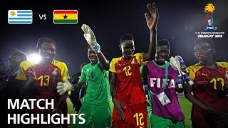 Uruguay v Ghana  - FIFA U-17 Women's World Cup 2018™ - Group A