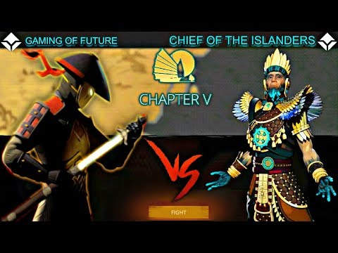Shadow Fight 3 Chapter 5 Boss CHIEF OF THE ISLANDERS