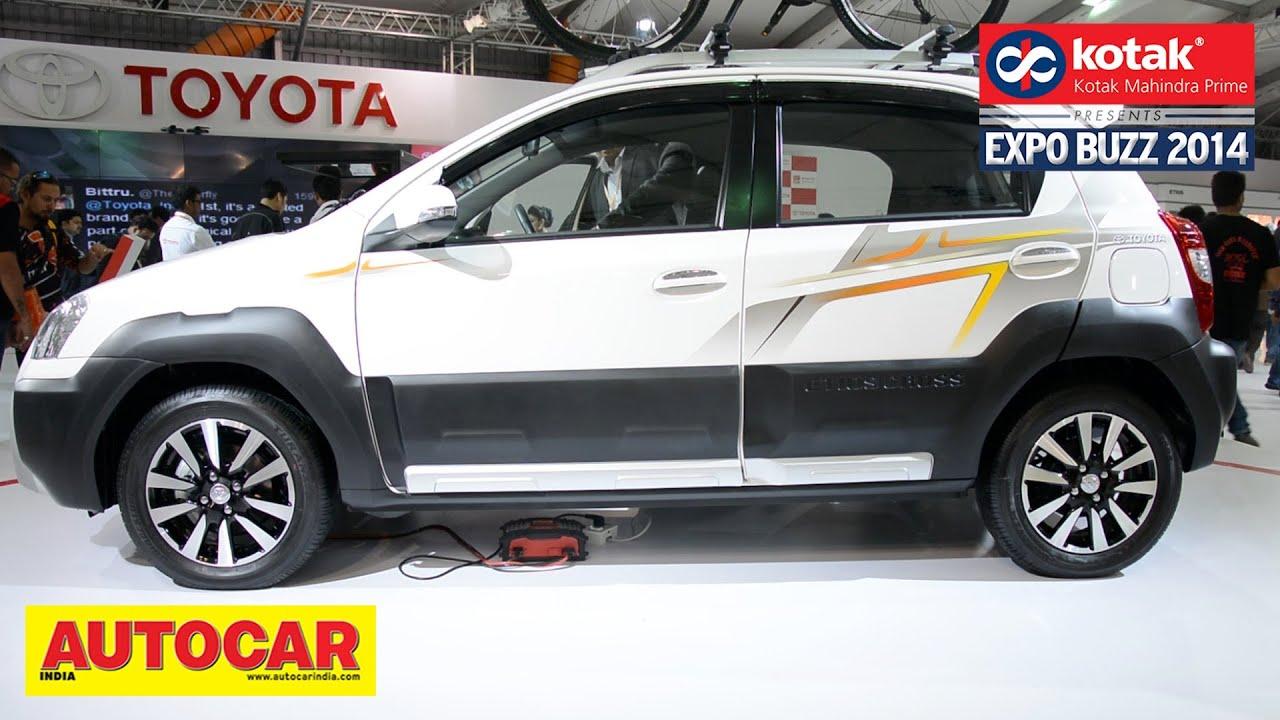 Toyota etios cross corolla altis auto expo 2014 kotak mahindra prime presents expo buzz 2014 youtube