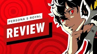 Persona 5 Royal Review (Video Game Video Review)