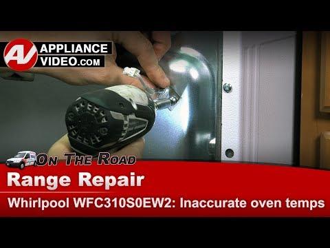Whirlpool, Maytag & Roper Oven - Temperature Sensor not working - Diagnostic & Repair