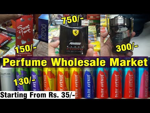 Perfume wholesale market   Explore Prada, Ferrari, Ramsons   Crawford Market Mumbai...
