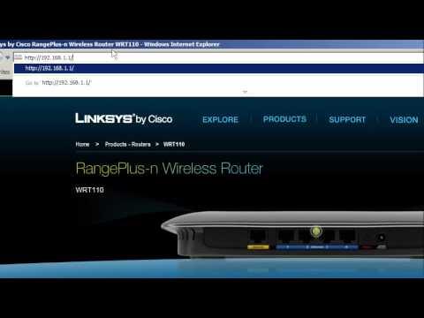 linksys wireless router wrt110 setup part 1