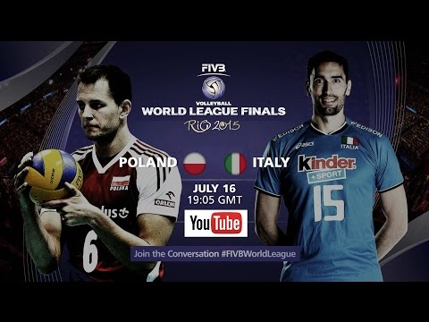 Live: Poland Vs Italy - FIVB Volleyball World League Final 2015