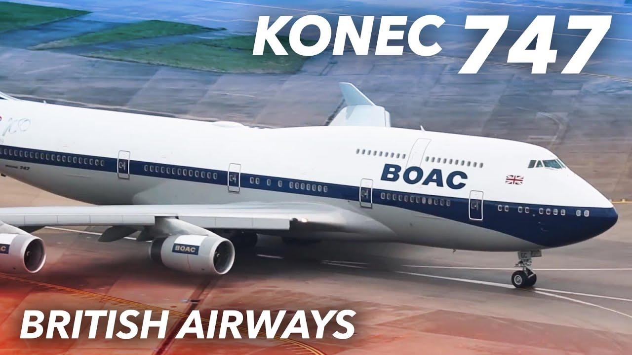 Konec Boeingu 747 u British Airways - Retirement