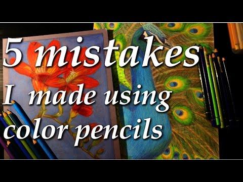 5 Mistakes I Made as a Beginner Color Pencil Artist