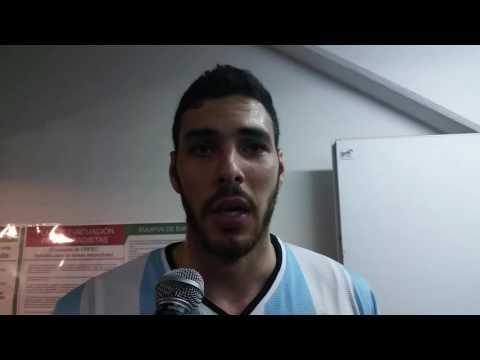 Roberto Acuña post partido Argentina-Croacia