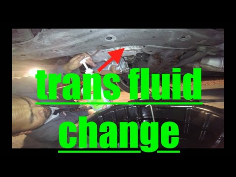 Manual Transmission Fluid Drain and Fill