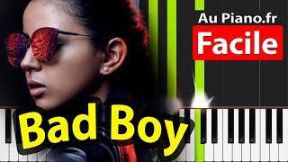 Marwa Loud Bad Bad Boy Piano FACILE Aupiano.Fr