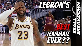 Who Is LeBron's Best Teammate Ever?