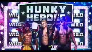 Hunky Heroes  Marketing Ad