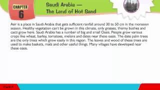 Explore Social,Class 05 ,06 Saudi Arabia - The Land of Hot Sand
