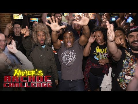 Xavier Woods vs. the WWE Universe in NBA Jam: Xavier's Arcade