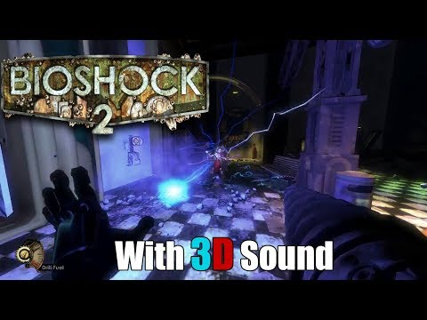 Bioshock 2 with 3D sound (CMSS-3D Headphone)