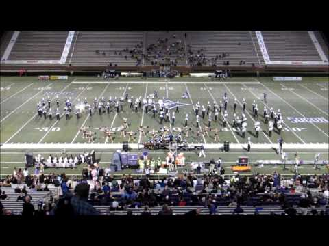 Furman University Marching Band The Paladin Regiment plays music of Styx