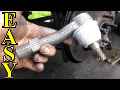How to Replace an Outer Tie Rod End