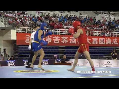 2016 China Men's Sanda Championship finals 70kg (feng jie vs xu jifu) thumbnail
