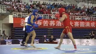 2016 China Mens Sanda Championship finals 70kg feng jie vs xu jifu