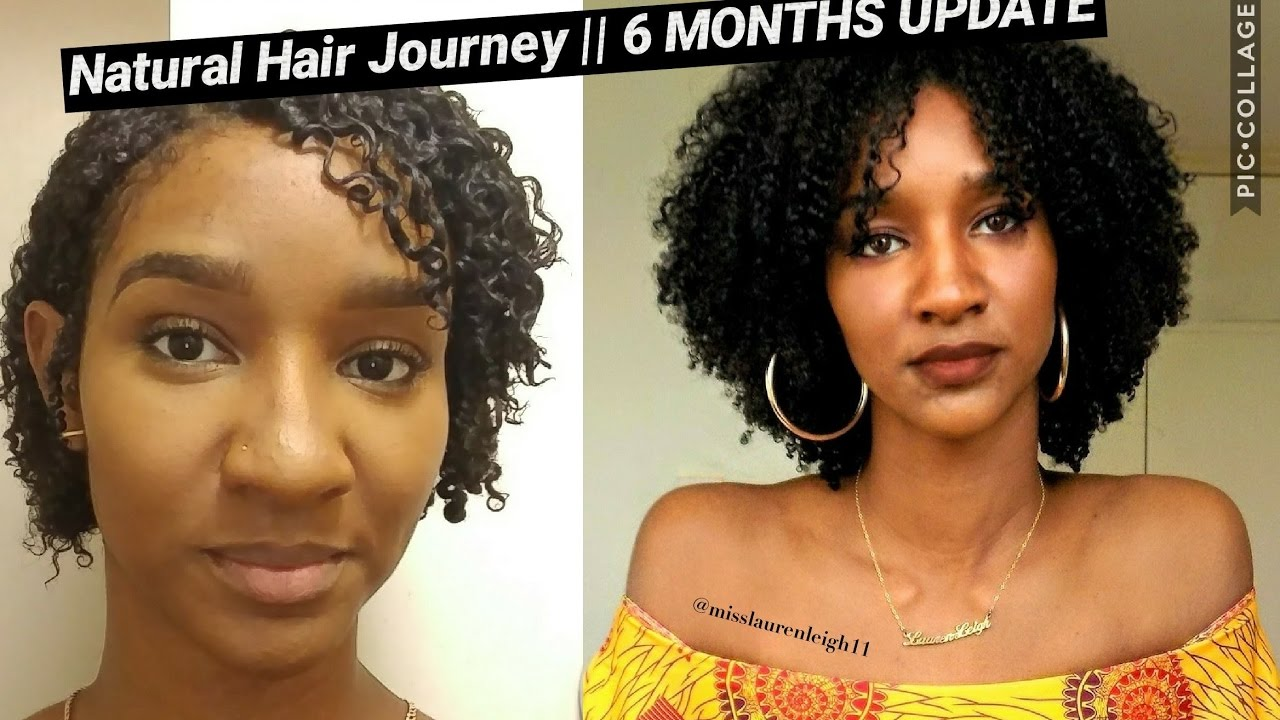 Natural Hair Journey Update 6 Months Post Big Chop