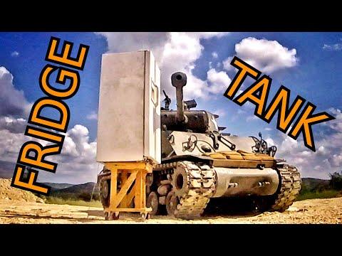 The Power of a Tank Muzzle Blast!!!