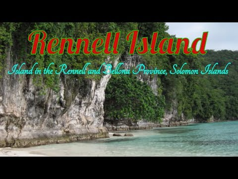 Visiting Rennell Island, Island in the Rennell and Bellona Province, Solomon Islands