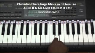 Gambar cover Anjali Anjali Pushpanjali - Piano Tutorials (Hindi)   1200 Songs BOOK/PDF @399/- 7013658813