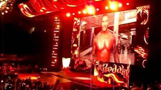WWE SMACKDOWN TUCSON AZ  - - - Randy Orton Returns To SmackDown 1-24-2012