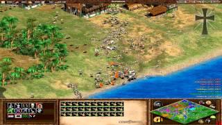 Age of Empires II - 103ª Partida Multijugador En Línea - Lucas, Juan Cruz, Tulio y Fede