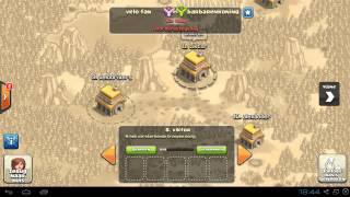 Clash Of Clans Update + Clan oorlog!!