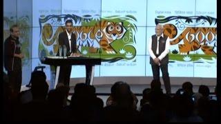 PM Modi with Sundar Pichai at Google (Alphabet) HQ in San Jose, California
