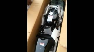 40cc 4 stroke pocket bike unboxing