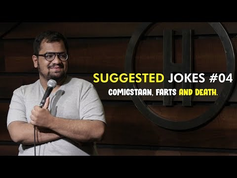 Comicstaan, Farts and Death | Suggested Jokes #4 | Stand-up Comedy by Rueben Kaduskar