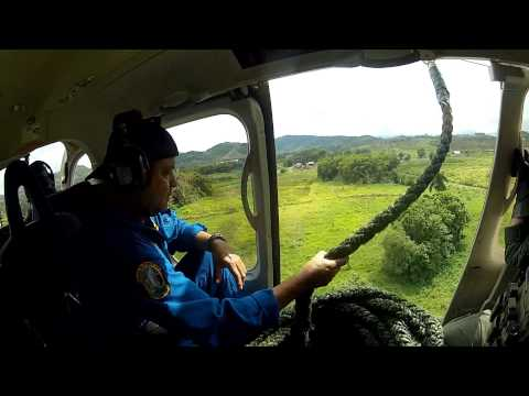 Bell 429 Puerto Rico S.W.A.T. Fast Rope Practice